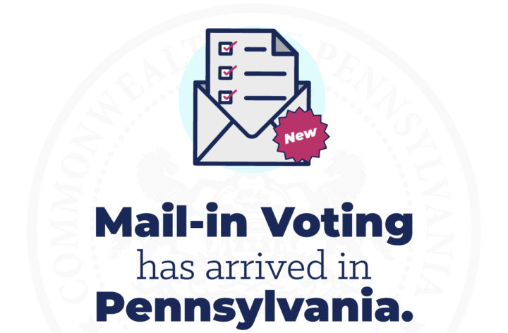 Mail-in voting has arrived in Pennsylvania
